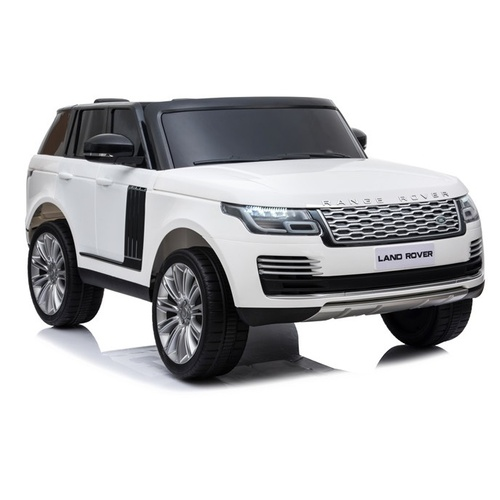 Range Rover SUV, 4x4 Electric Ride On Toy for Kids - White Pre- Order ETA 27th Oct