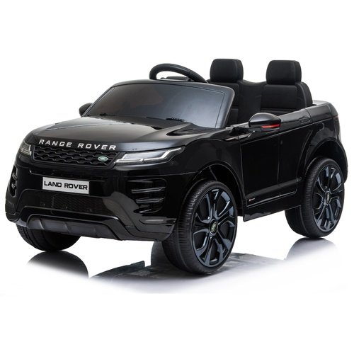 Licensed Land Rover Evoque 12V Electric Ride On Toy - Black