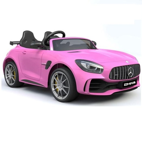 Mercedes-AMG GT R Sports Car, 4WD Electric Ride On Toy Pre-Order 30th Aug- Pink