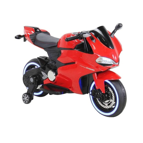 Ducati Motorbike Replica, 12V Electric Ride On Toy - PRESALE ETA 5th Nov- Red