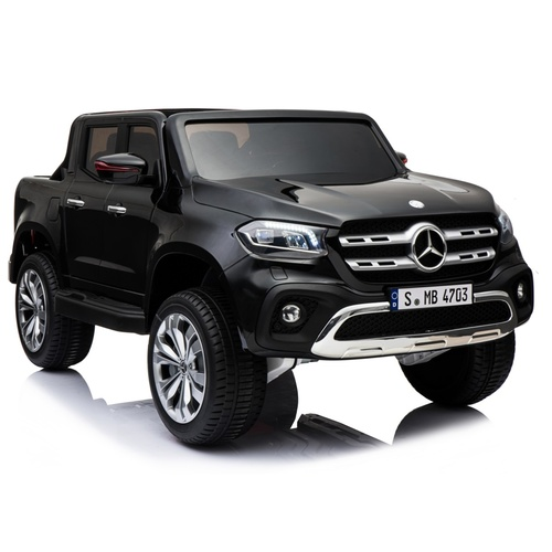 Mercedes-Benz X-Class Ute, 4x4 4WD Electric Ride On Toy - Black